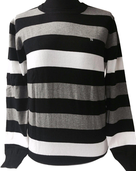 Sub70 Tour Stripe Golf Sweater