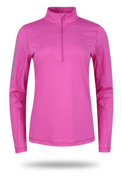 ELEVEN Ladies Golf Dayna Mid-Layer with Zip-Neck
