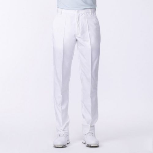 Ian Poulter Tour Tech Mens Golf Trousers White Only