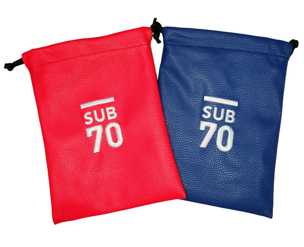 2019 Sub70 Soft Touch Valuables Bag - Pouch Red or Blue