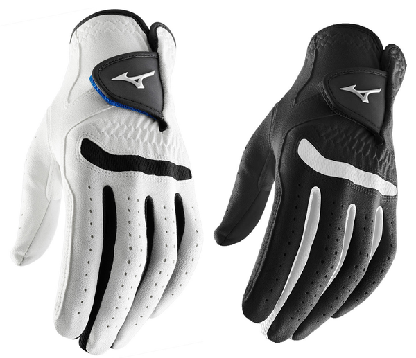 Mizuno Mens Comp Synthetic Golf Glove For The Left Hand + Free Shirt