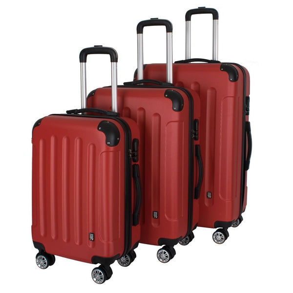 Sub70 Golf Hard Shell Travel Luggage Suitcase Set of 3