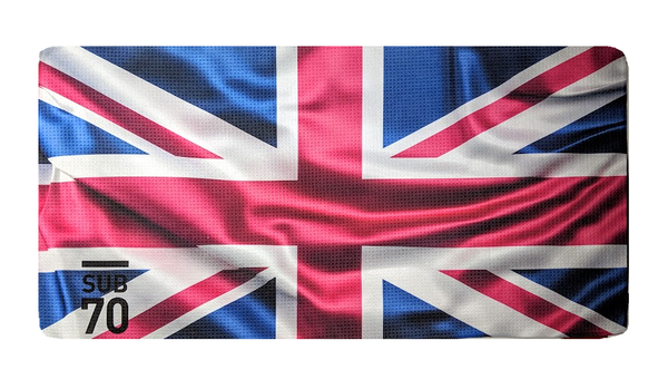 New Sub70 Tour Union Jack Flag Microfibre Bag Towel
