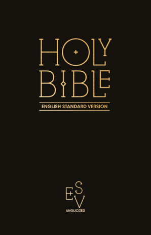 ESV Pew Bible Black (Anglicised)