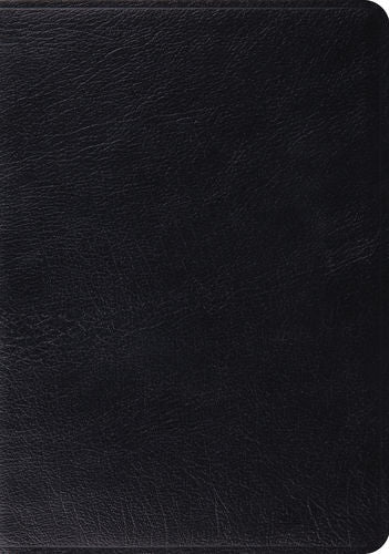 ESV Study Bible Premium Calfskin Leather Black