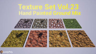 Ground Mix Vol.23 - Hand Painted Textures
