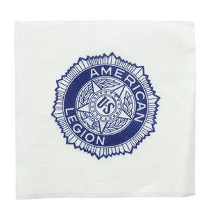 "Napkin Cocktail American Legion 10"" x 10"" - Home Of Coffee"