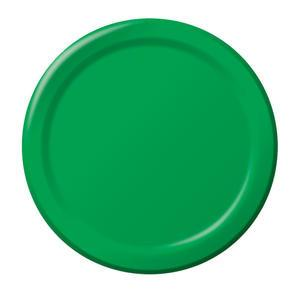 "Paper Plate Green 10"" - Home Of Coffee"