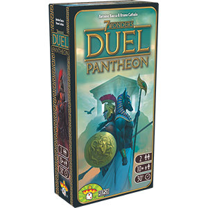 7 Wonders Duel Pantheon - Blue Herring Games - 1