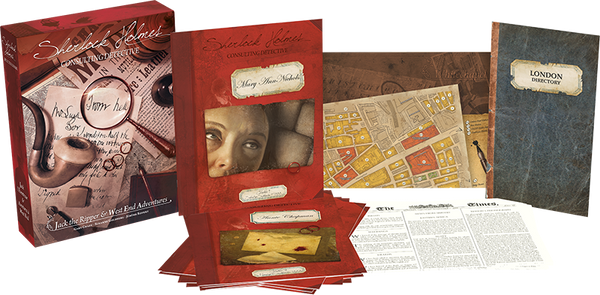Sherlock Holmes Consulting Detective | Jack the Ripper & West End Adventures