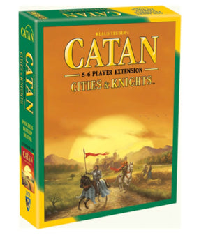 Catan | Cities and Knights 5 & 6 player expansion