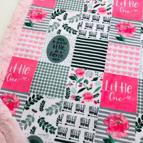 Little One Designer Luxe Minky Blanket
