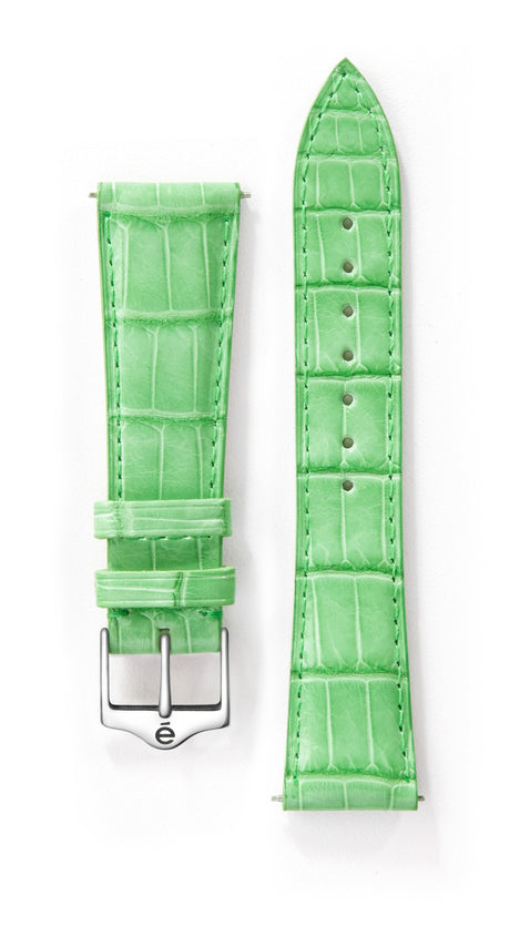 Green Alligator Watch Band
