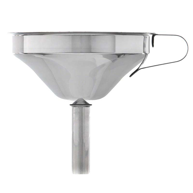 Stainless Steel Funnel with Strainer Update International FSV-5S