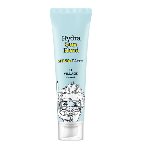 VILLAGE 11 FACTORY Hydra Sun Fluid SPF 50 PA+++ 50ml - Meikki