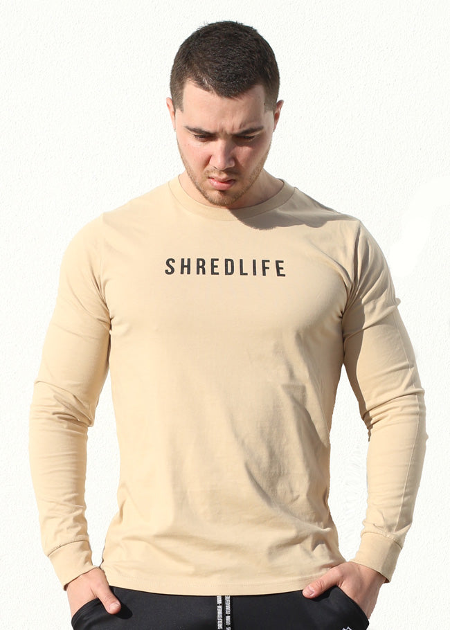 Luxury Longsleeve - Tan