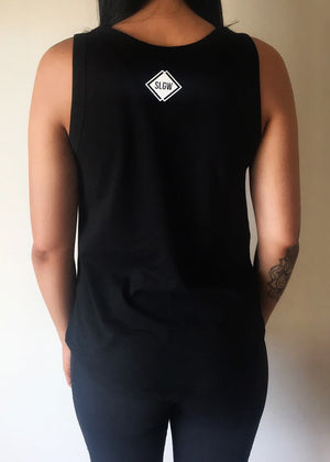 Lifestyle Signature Singlet - Black