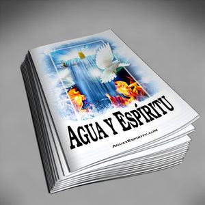 Agua y Espíritu Guí­a de Estudio Folleto (Español) - Water and Spirit Born Again Bible Study -