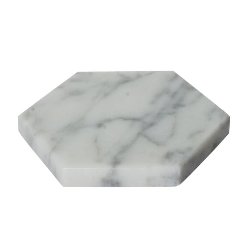 Marble - Hexagonal Coasters (Set of 4)