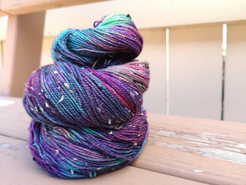 Berrylicious Tweed Fingering Weight Yarn