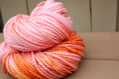 Peach Passion Bulky Sock