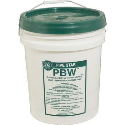 Brewmaster Cleaning & Sanitizing Chemicals Cleaner - PBW (50 lbs)