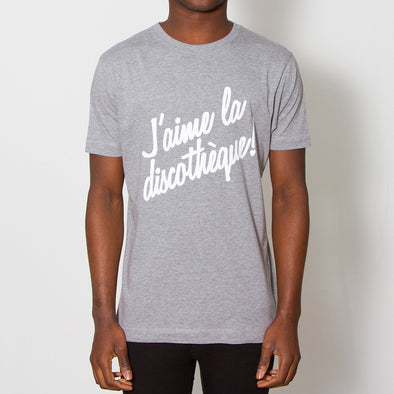 J'aime Discotheque - Tshirt - Grey - Wasted Heroes