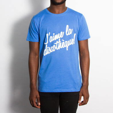 J'aime Discotheque - Tshirt - Blue - Wasted Heroes