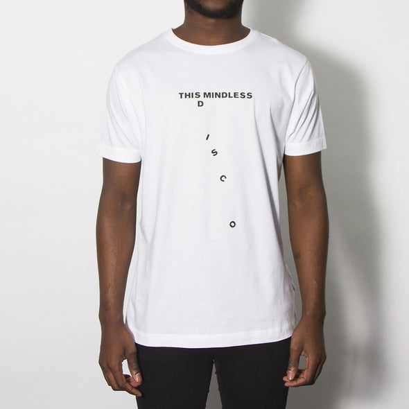 Mindless Disco - Tshirt - White - Wasted Heroes
