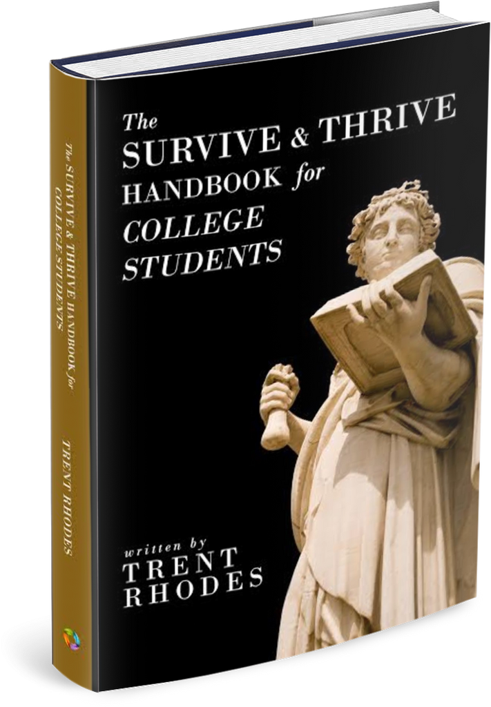 The Survive & Thrive Handbook for College Students - eBook