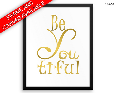 Beautiful Print, Beautiful Wall Art with Frame and Canvas options available Beauty Decor