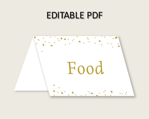 Food Tent Bridal Shower Food Tent Gold Bridal Shower Food Tent Bridal Shower Gold Food Tent Gold White pdf jpg party organizing shower G2ZNX