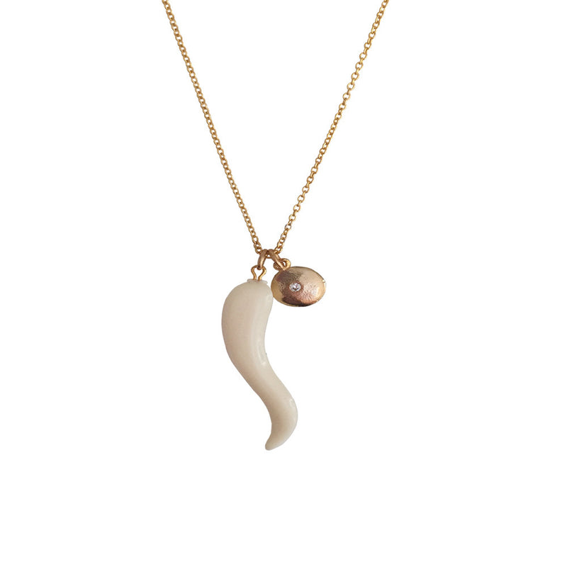 Cabana Necklace-Ivory