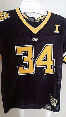 IOWA HAWKEYES  COLOSSEUM FOOTBALL JERSEY SIZE SM/MD 8-12 YOUTH