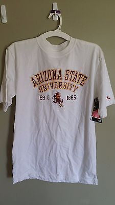NWT ARIZONA STATE SUN DEVILS T SHIRT SIZE MED ADULT