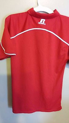 RUSSELL TEAM ISSUE UNLV RUNNIN REBELS POLO SHIRT SIZE MED ADULT