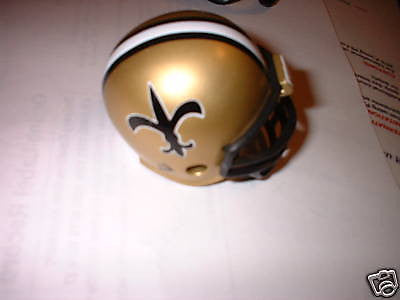 1 NEW ORLEANS SAINTS 1976-1999  POCKET PRO HELMET NFL