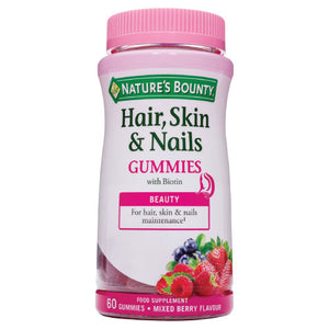 Hair, Skin & Nails Gummies with Biotin & Collagen