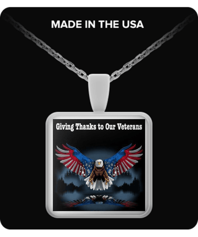 Giving Thanks to Our Veterans - Necklace - Vietees Shop Online