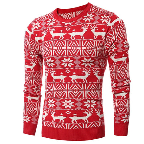 Sweater men high street wear oversize hip hop thick high quality new design ugly christmas sweater pullover wool down - Vietees Shop Online