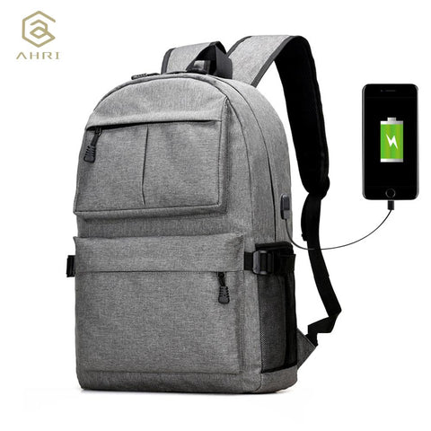 USB Unisex Design Backpack Book Bags for School Backpack Laptop Fashion Man Backpacks - Vietees Shop Online
