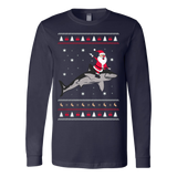 Shark Ugly Christmas Sweatshirt - Vietees Shop Online