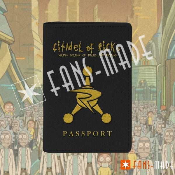 Citadel Of Ricks Passport Cover Accessories