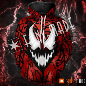 Carnage Unisex Pullover Hoodie S
