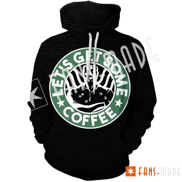 Coffee With Luke Unisex Pullover Hoodie