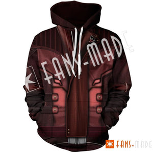 Starlord Unisex Pullover Hoodie M