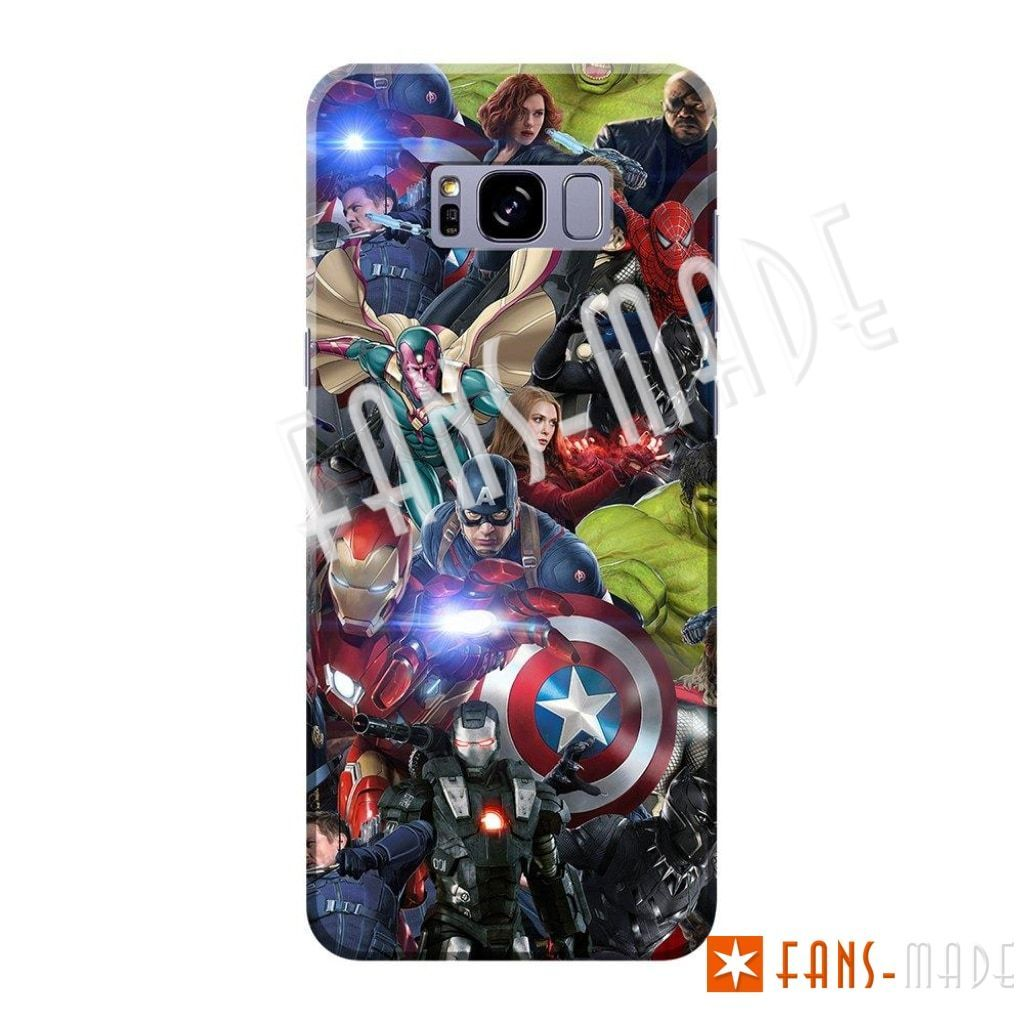 Earths Heroes Phone Case Samsung S7