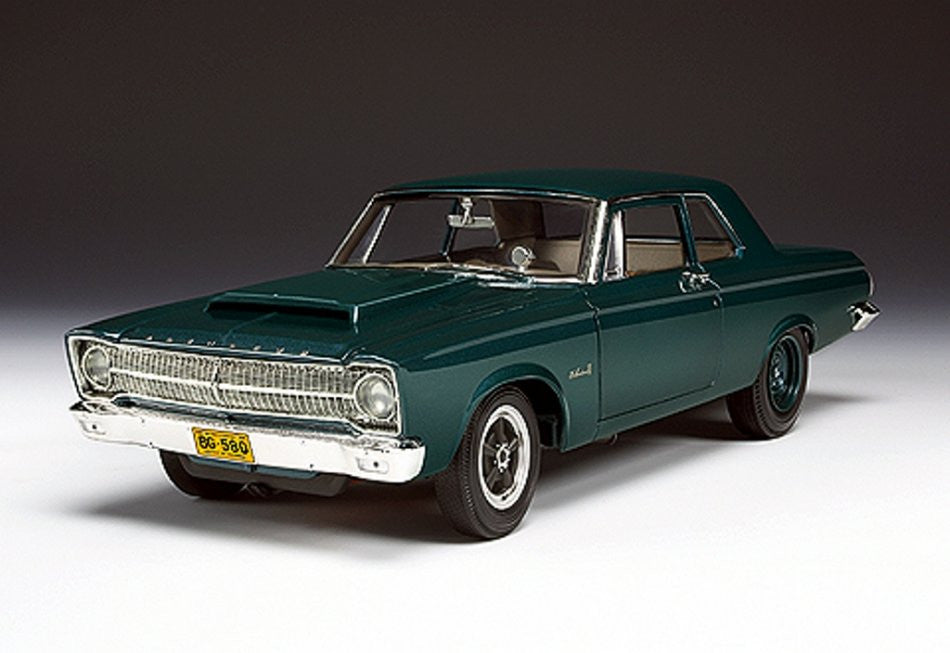 Plymouth Belvedere Drag 1965 Highway 61 1/18
