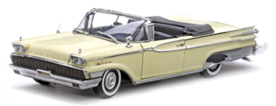 Mercury Park Lane Convertible 1959 Sun Star Platinum 1/18