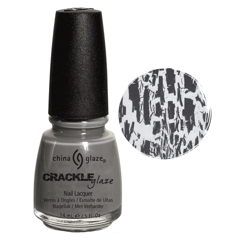 China Glaze Crackle Glaze Cracked Concrete #81052